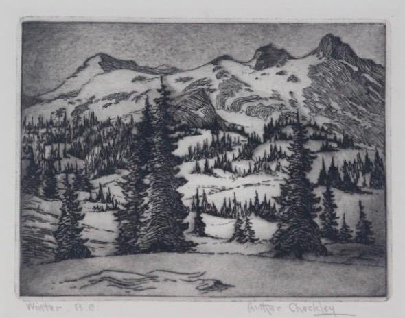 Arthur Checkley, Winter BC
