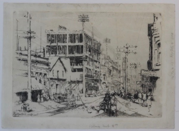 Earnest Lumsden, Fort Street, Victoria BC, 1910