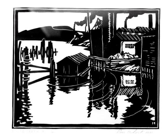 Ross Lort, False Creek, BC, 1933