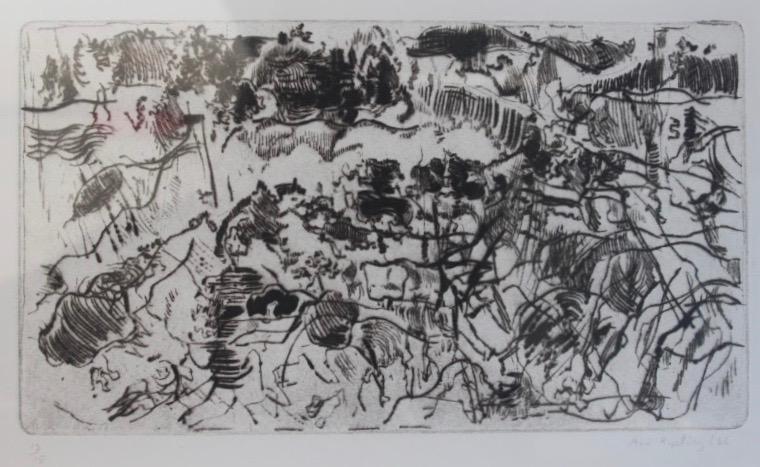 Ann Kipling, Landscape Sea & Rock - Burrard Inlet, 1966