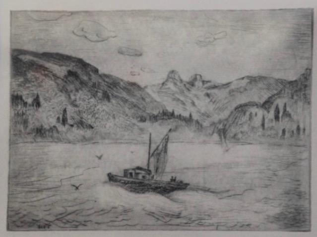 Gordon Kit Thorne, untitled Howe Sound