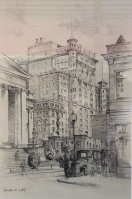 Charles H. Scott, Old Vancouver Hotel, 1929
