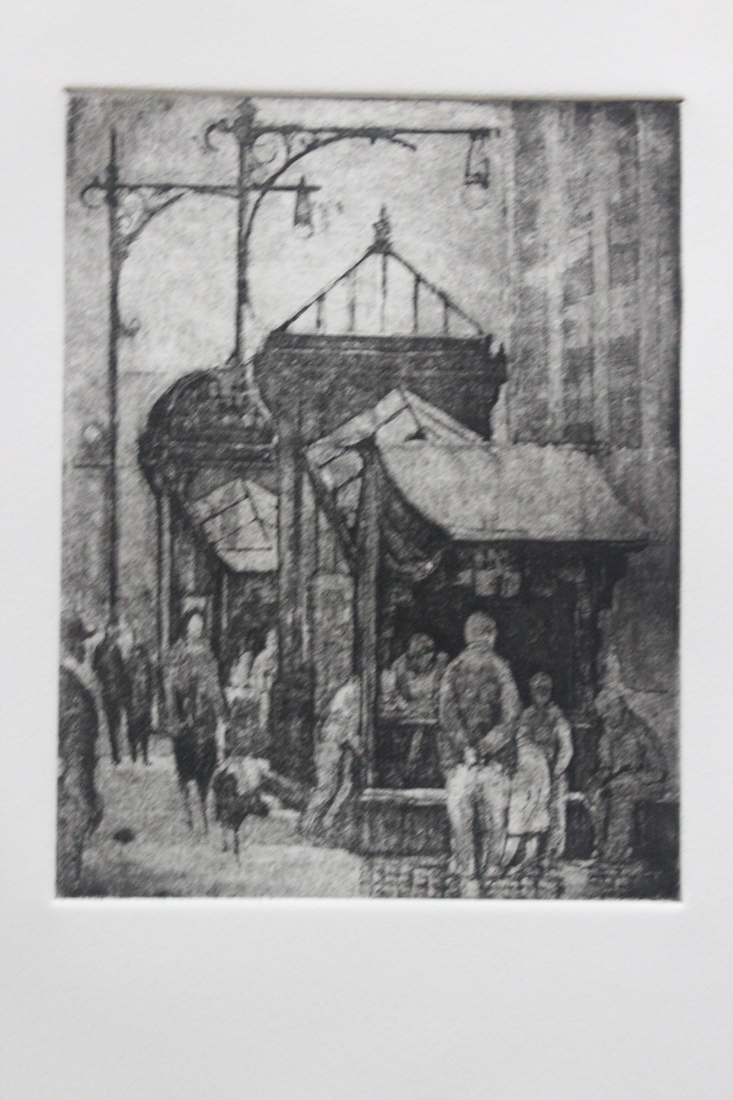 Paul Goranson, News Stand, 1949