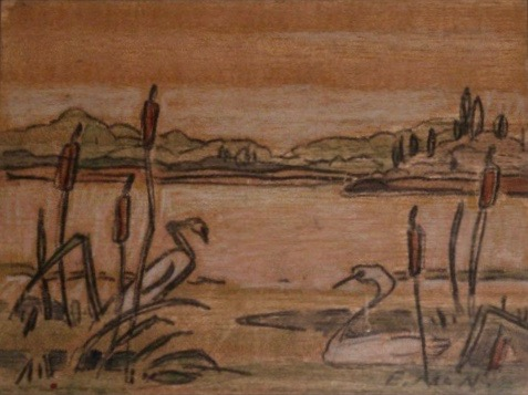 Euphemia McNaught, Swans