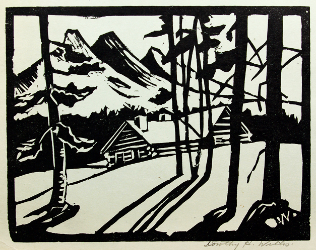 Dorothy Henzell-Willis,Log Cabin