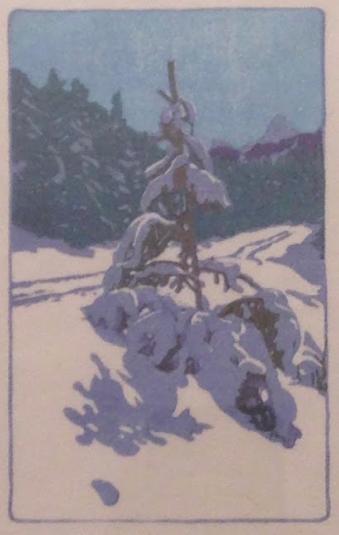 Walter J. Phillips, Winter Road, 1946