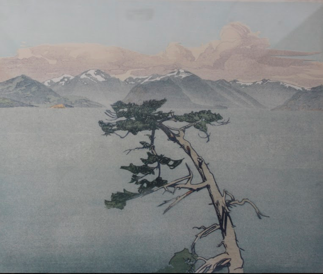 Walter J. Phillips, Howe Sound, BC, 1945