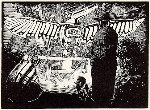 Walter J. Phillips, Thunderbird, Alert Bay, 1930
