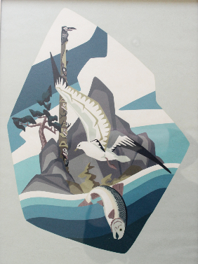 Thor Hansen, Untitled (Totem, Gull and Fish)