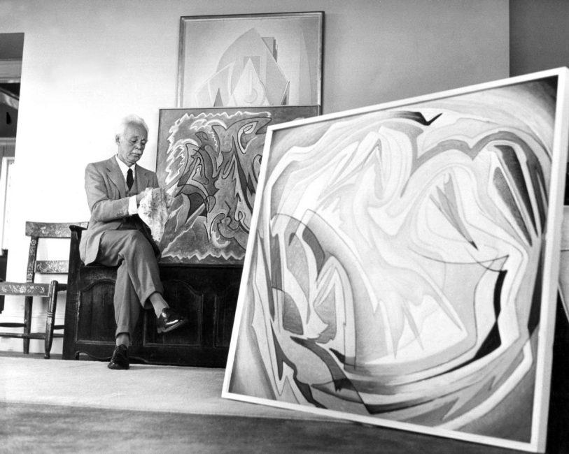 Harris in his studio Photo: The Toronto Star