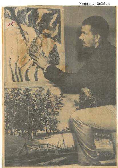 Welden Munden, January 7th, 1963 Photo: Penticton Herald