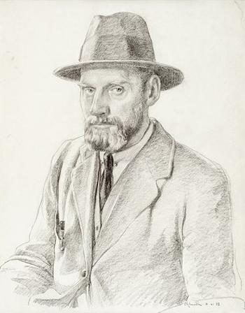 Self-Portrait (1923) by Ernest S. Lumsden
