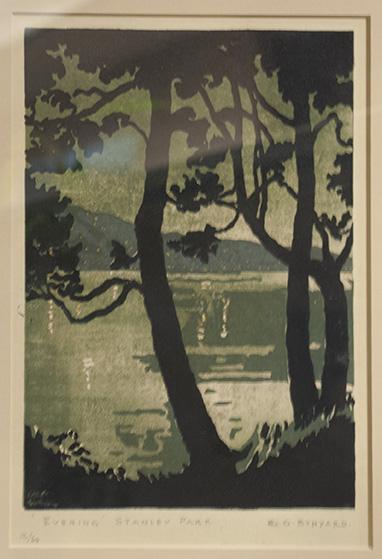 Evening Stanley Park, R. G. Bunyard