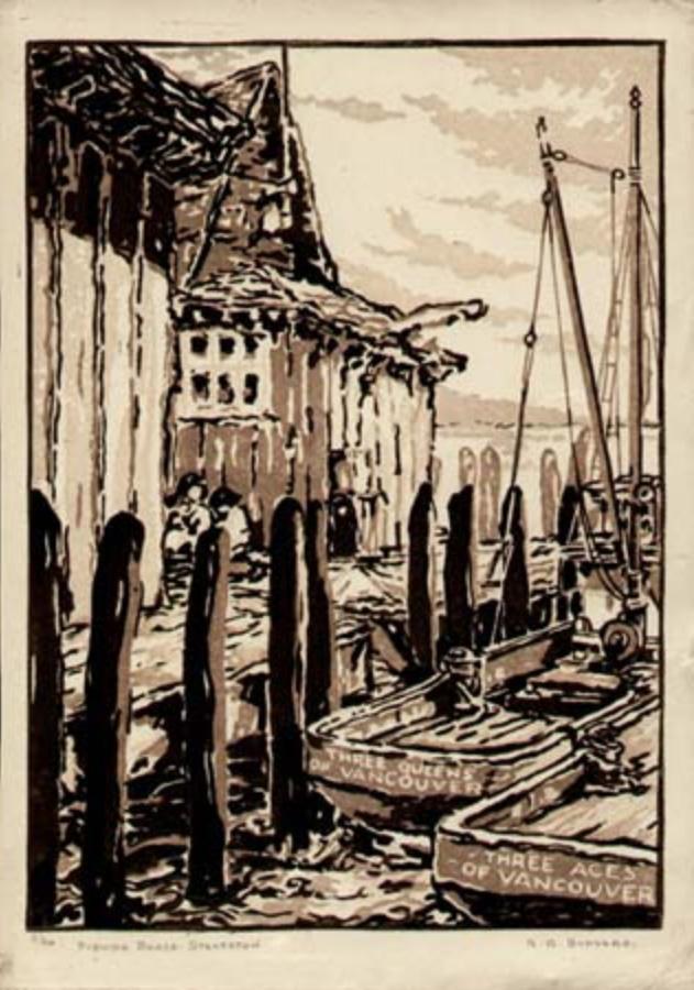 Fishing Boats Steveston, R.G. Bunyard