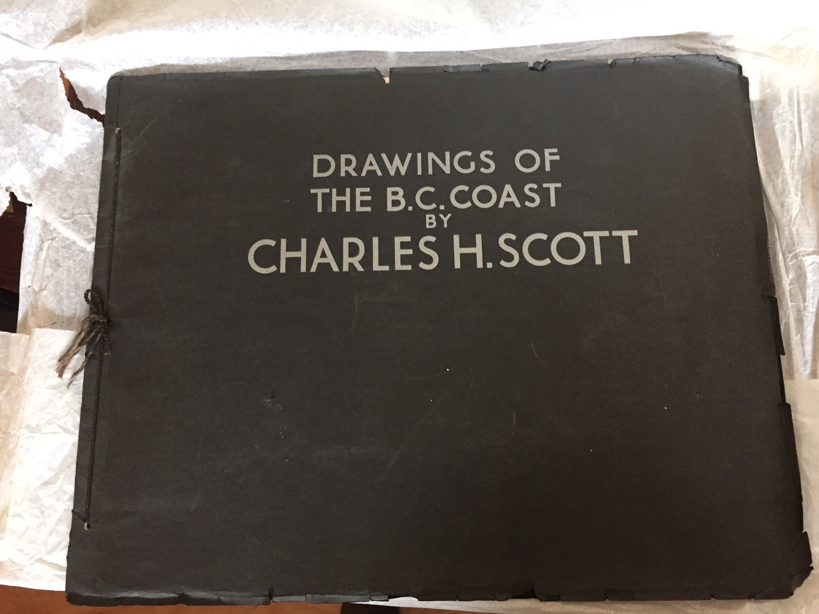 Drawings of the B.C. Coast by Charles H. Scott