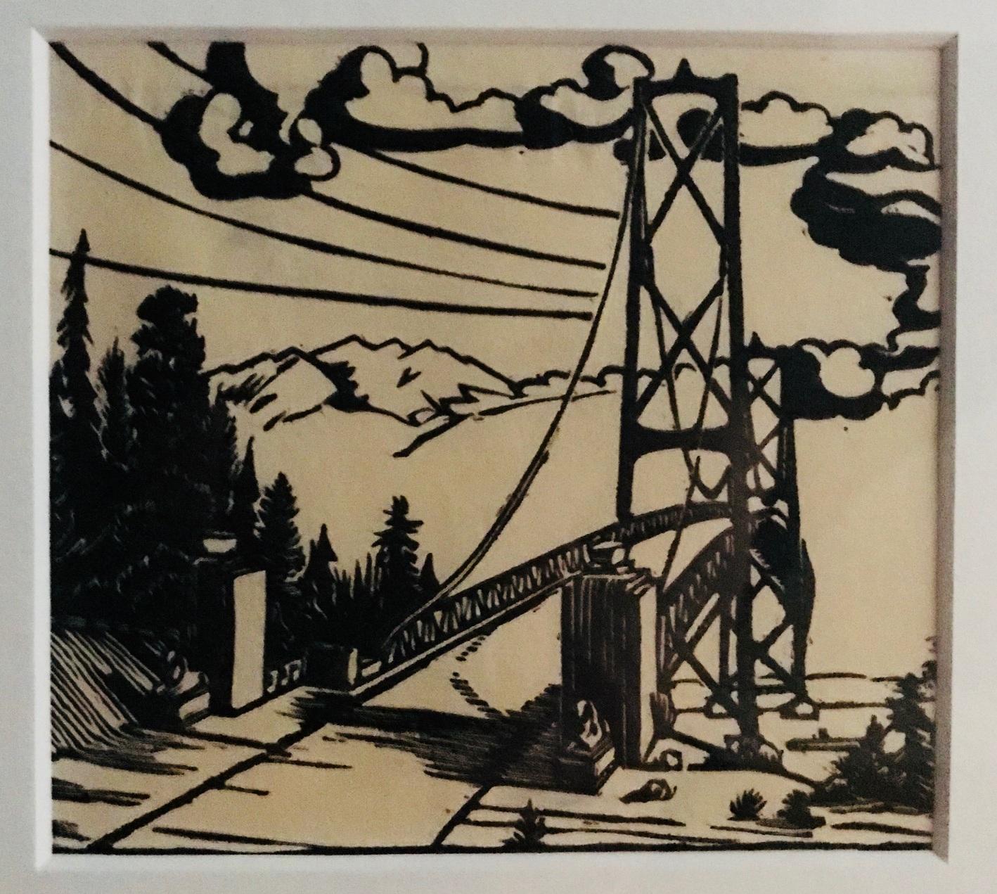 untitled Lions Gate Bridge, Margaret Shelton