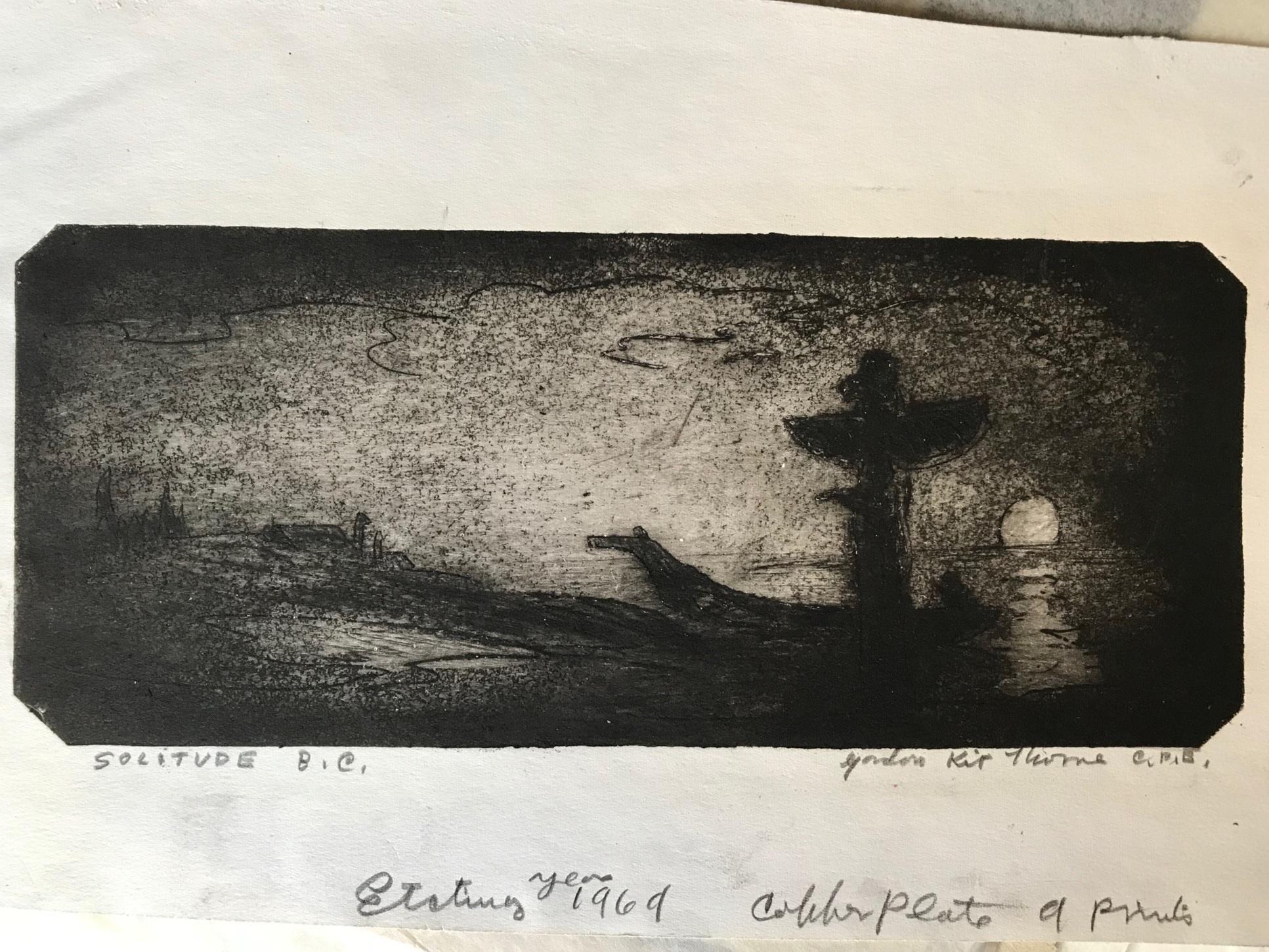 Gordon Kit Thorne, Solitude B.C.