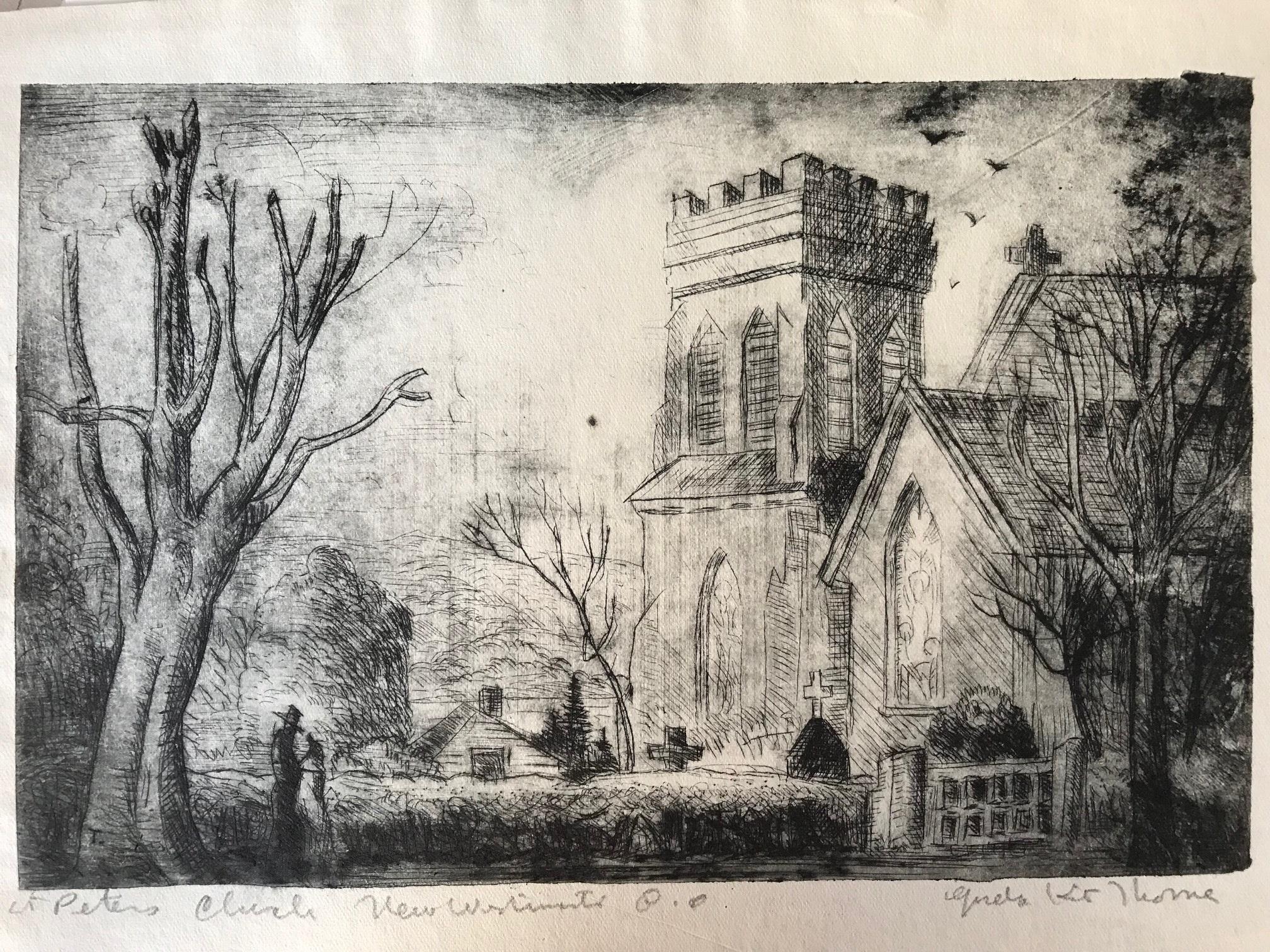 Gordon Kit Thorne, St. Peter's Church New Westminster, B.C.