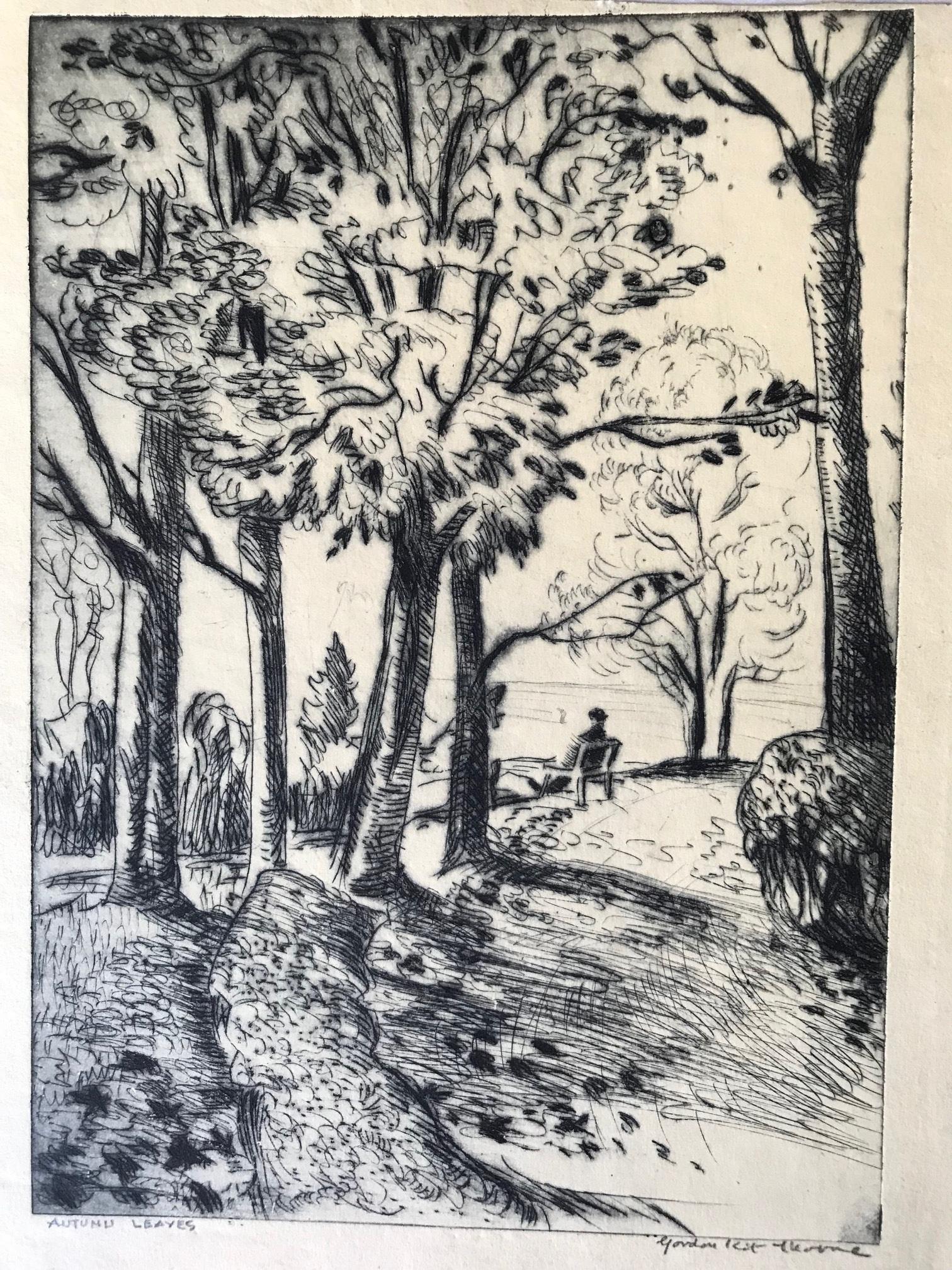 Gordon Kit Thorne, Autumn Leaves