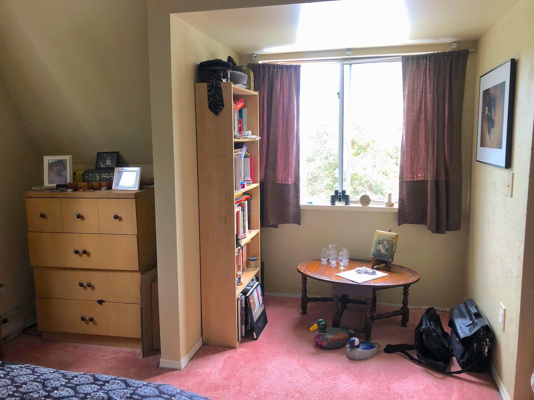 Master bedroom NE dormer