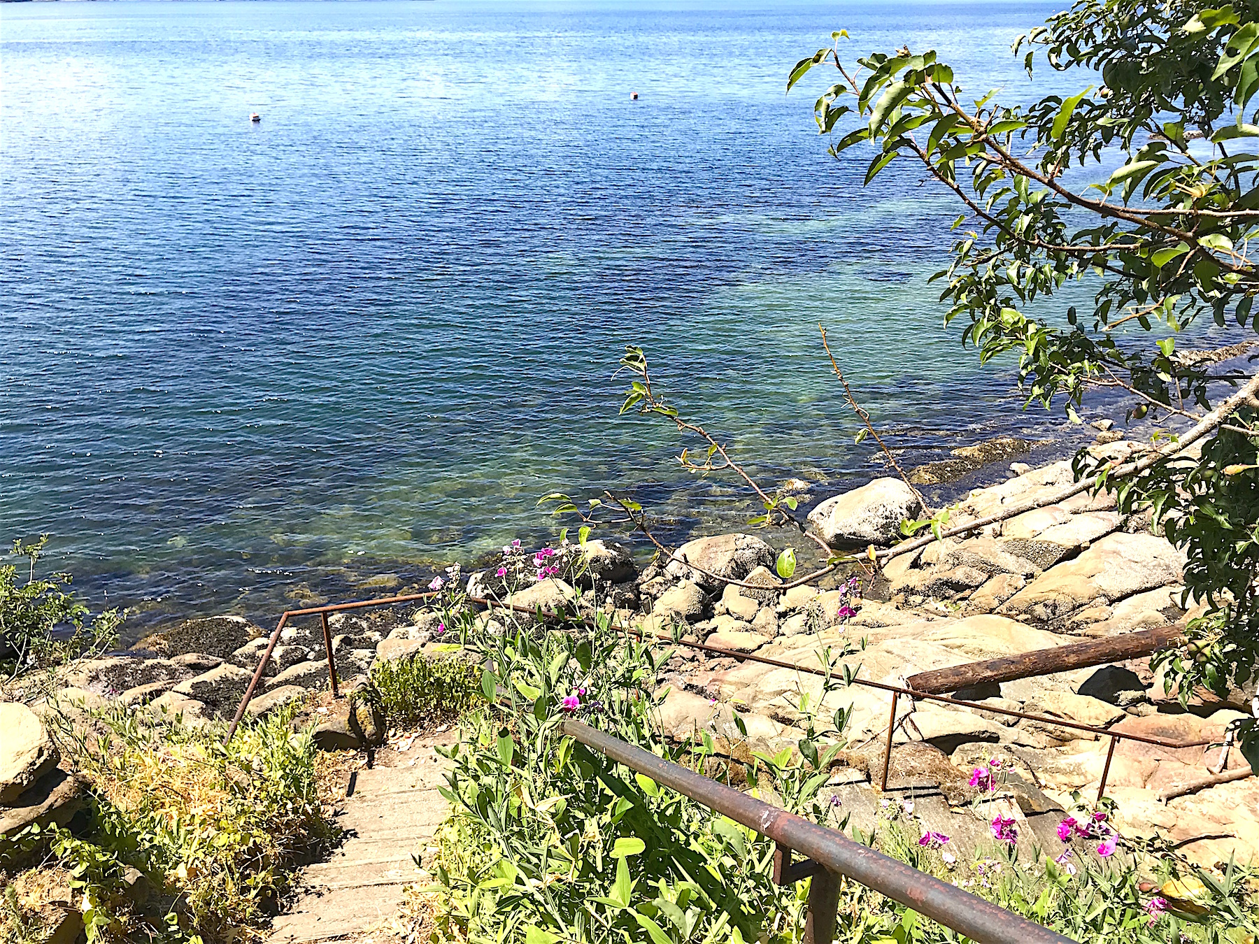 Stairs to beach H - 21455 Porlier Pass.jpeg