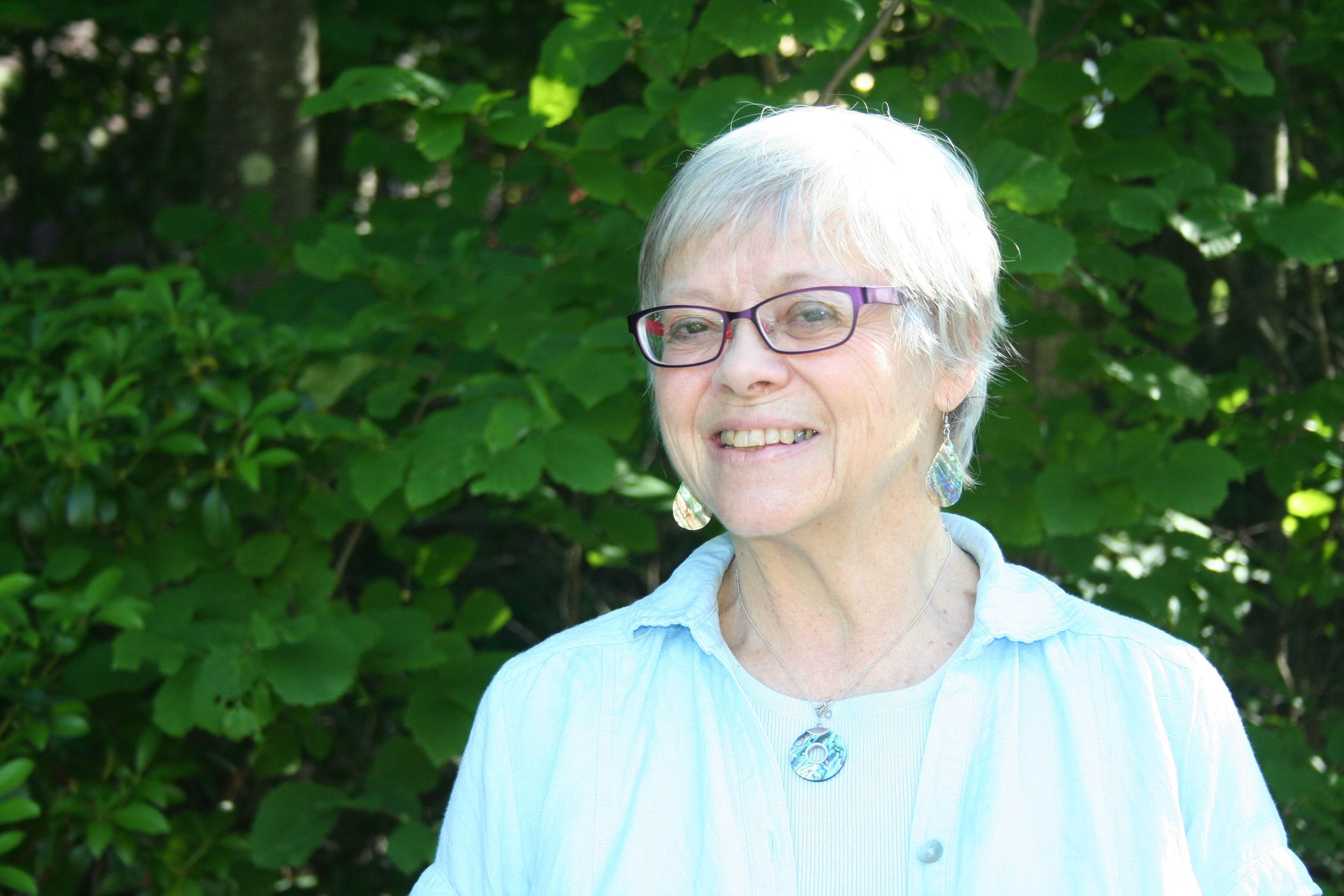 Photo of Carol Rinehart by Kat Allen