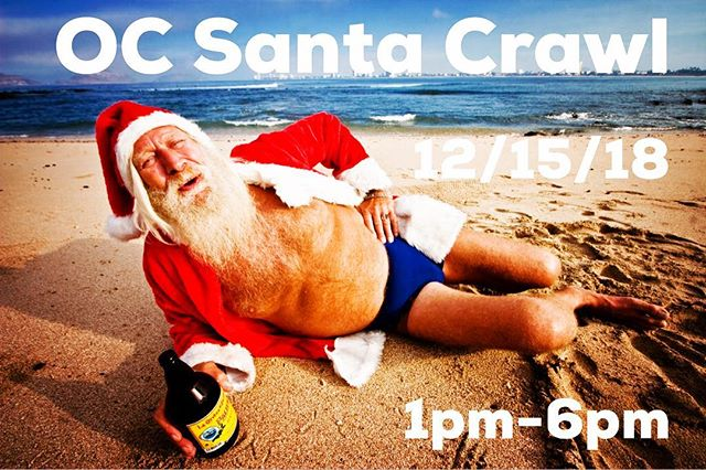 Did you hear? The 7th Annual @ocsantacrawl is Dec 15th this year!! It's official. Tickets are on sale now!! Promo code: fbsanta50 to save 50%!!! Get yours before they are gone!  #ocsantacrawl #santacon #santacrawl #pubcrawl #beer #wine #cocktails #happyhour #fundraiser