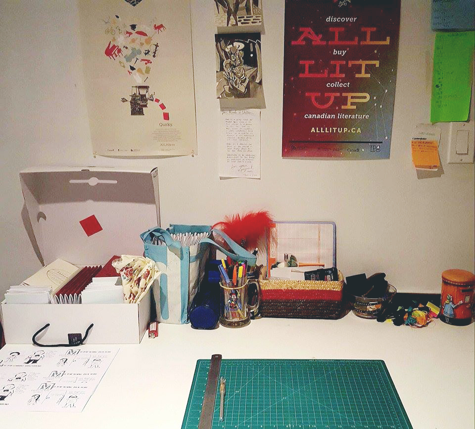 Nicole & Will's Workspace