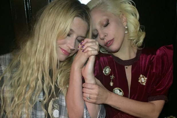 Kesha and Lady Gaga - thewrap.com