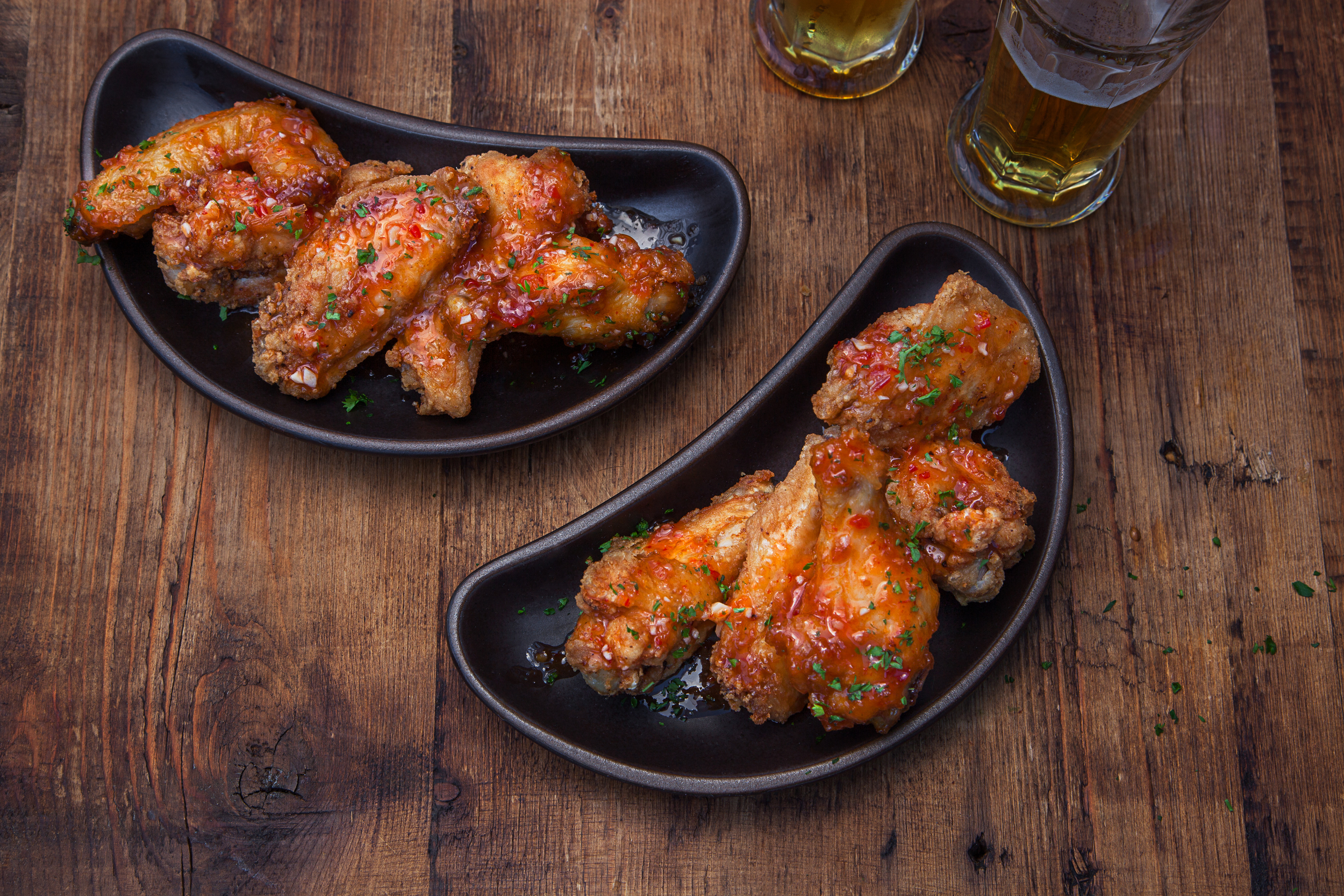 Sweet Chili Garlic Wings