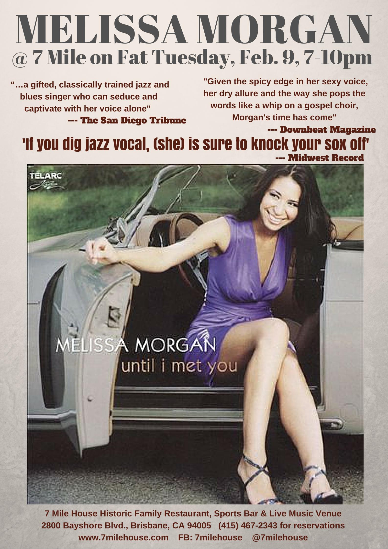 Melissa Morgan at 7 Mile House