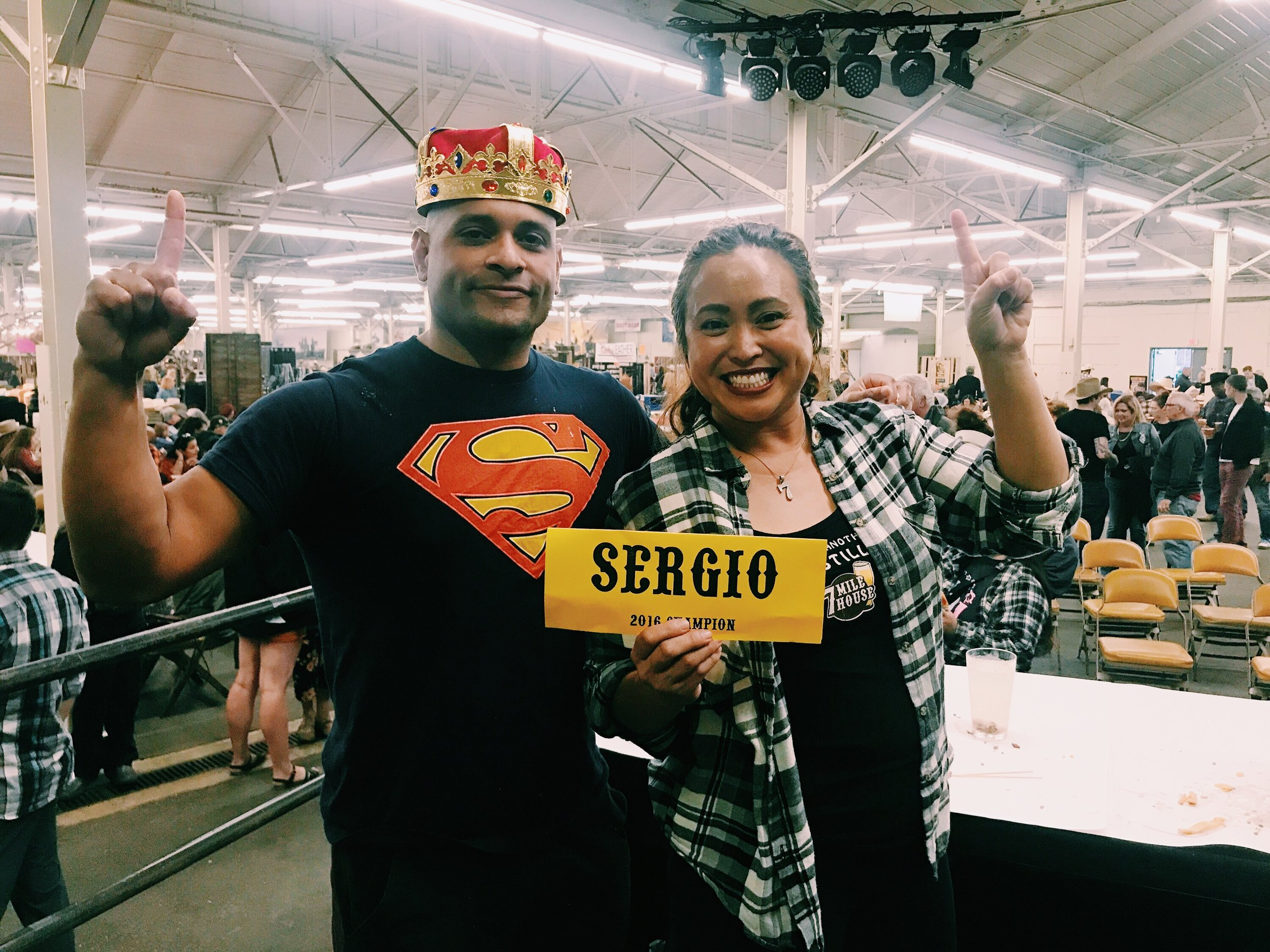 Sergio retakes the crown!
