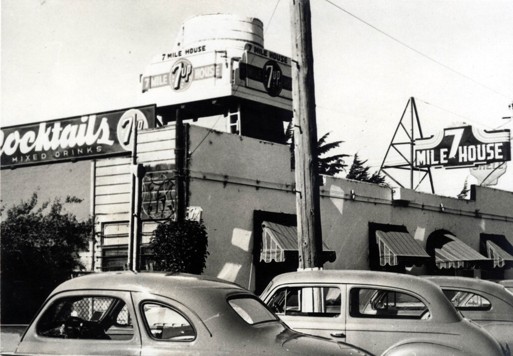 7 Mile House in the 1950s