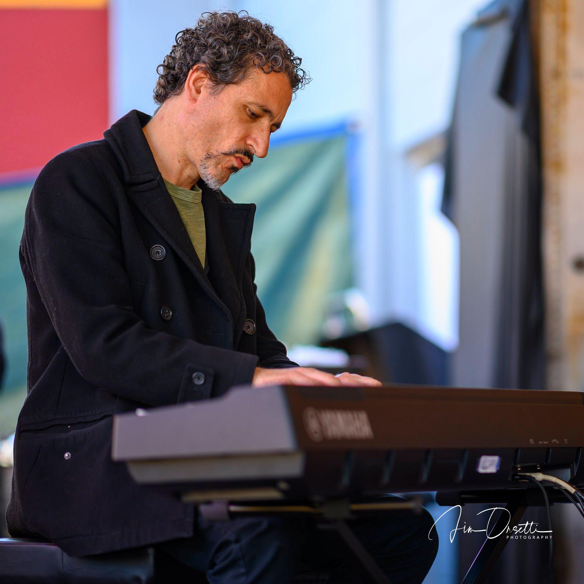 Matt Clark at the 2nd Annual 7 Mile House Jazz Fest 2019