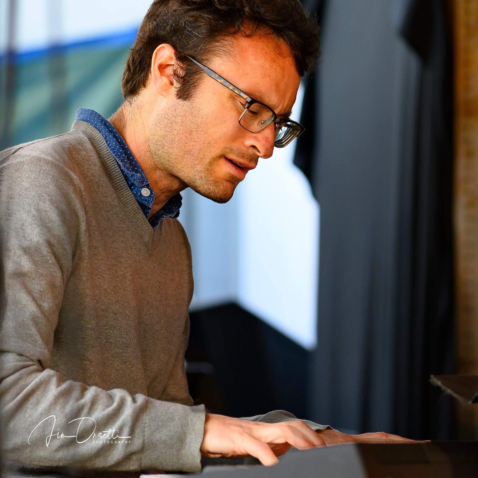 Adam Schulman at the 2nd Annual 7 Mile House Jazz Fest 2019