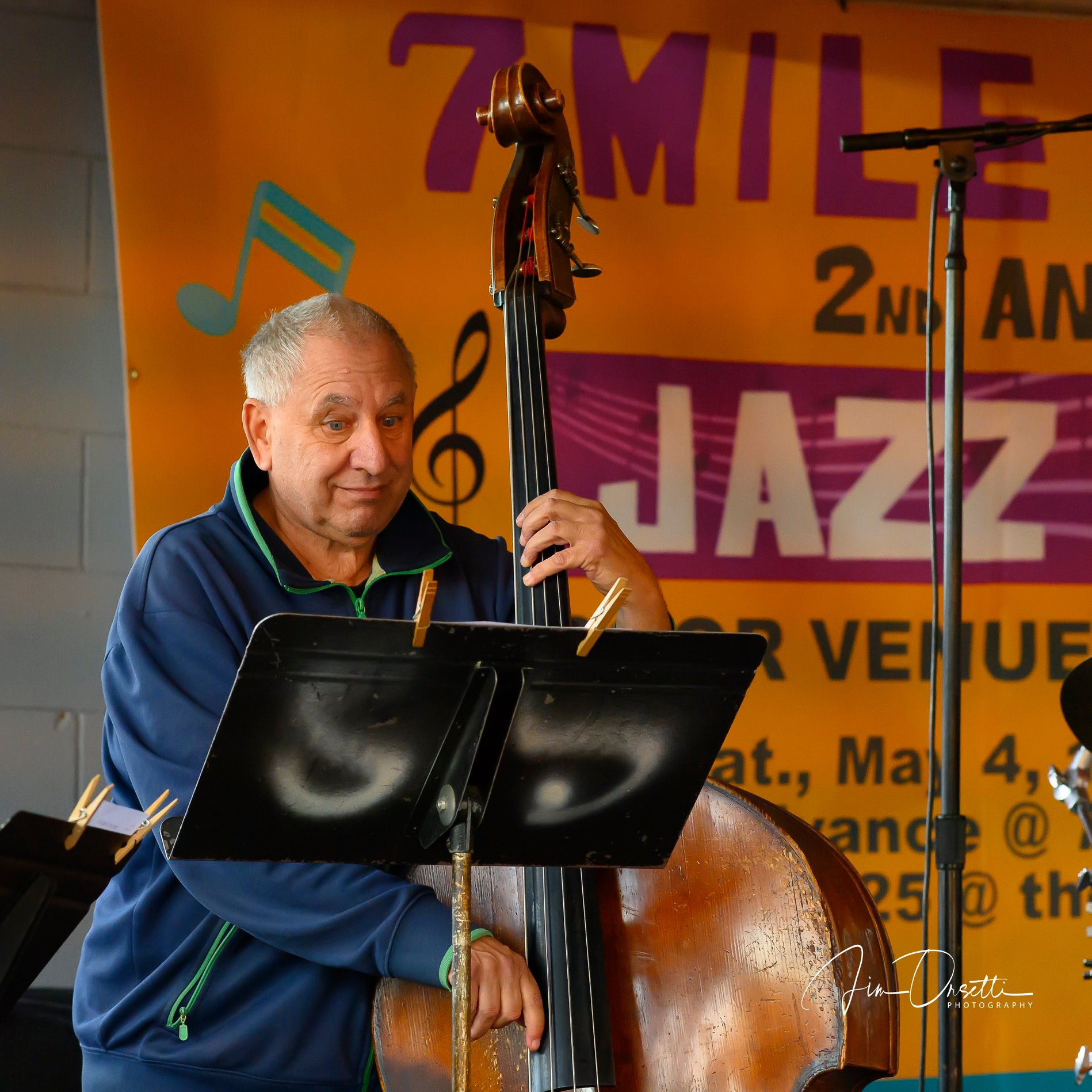 Peter Barshay at the 2nd Annual 7 Mile House Jazz Fest 2019
