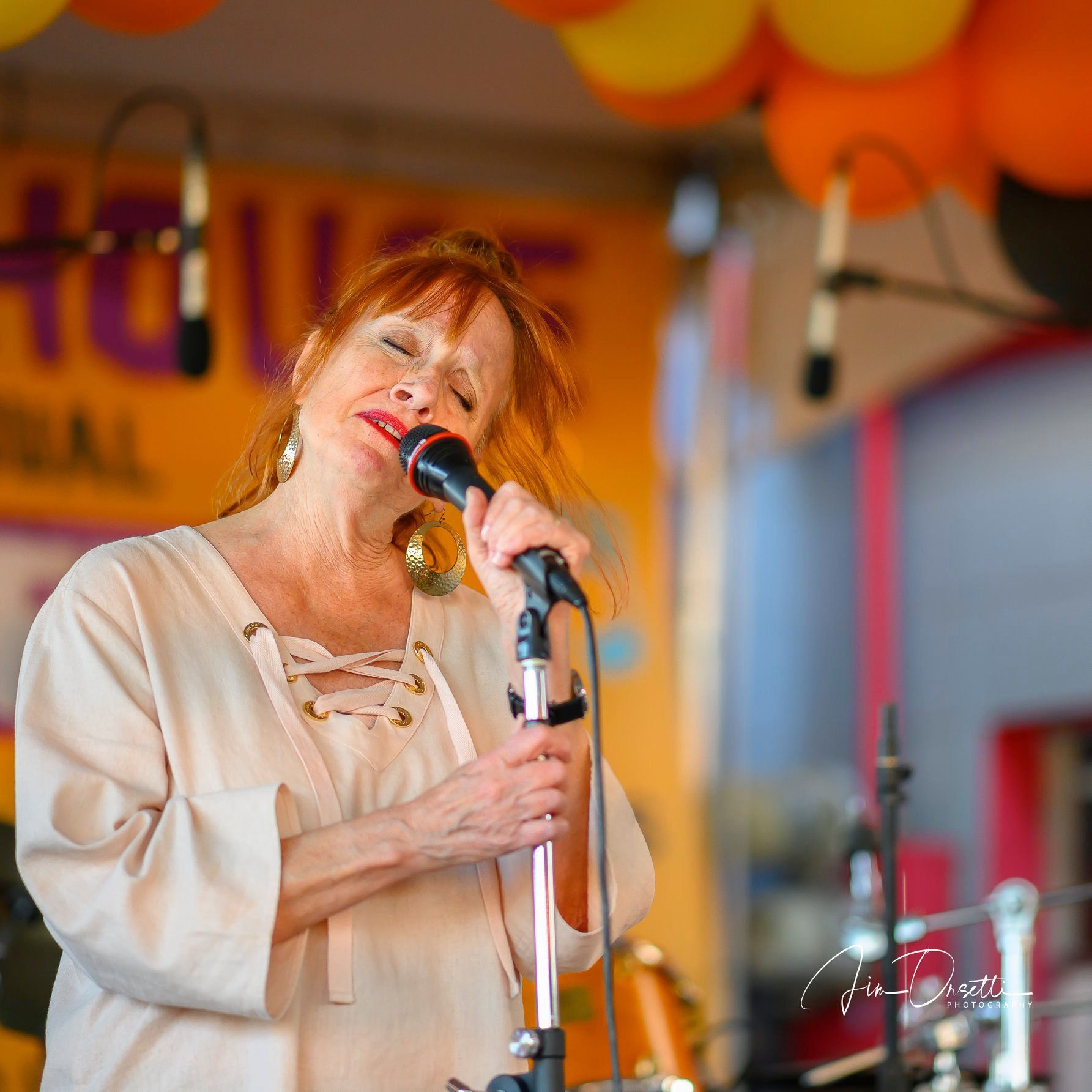 Madeline Eastman at the 2nd Annual 7 Mile House Jazz Fest 2019
