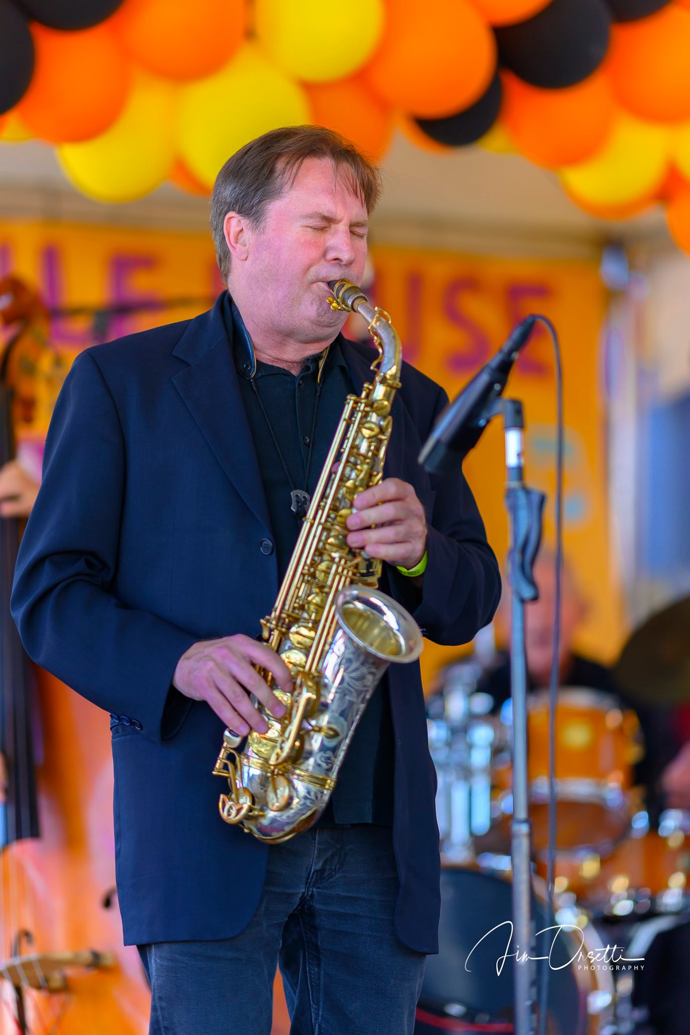 Andrew Speight at the 2nd Annual 7 Mile House Jazz Fest 2019