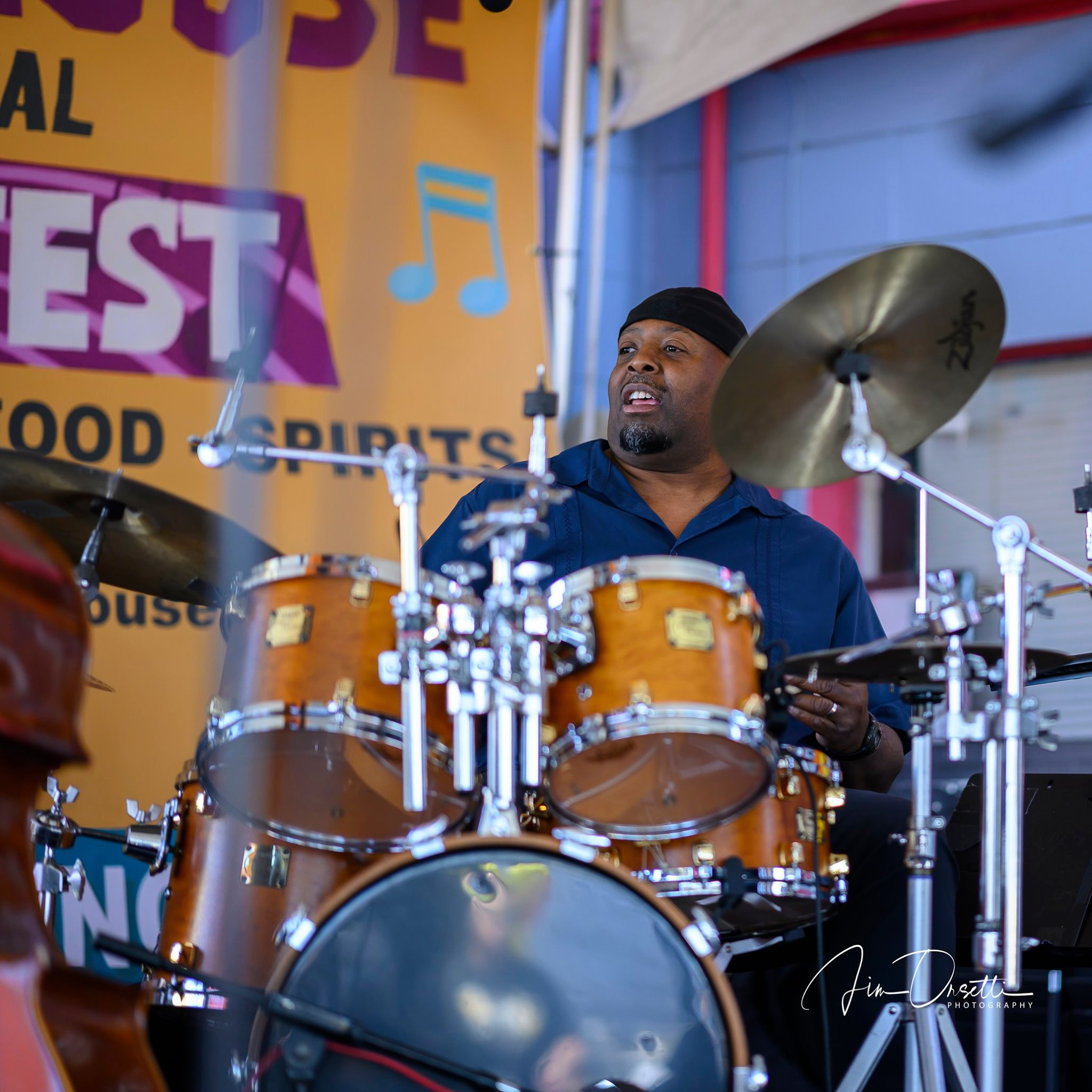 Rob Rhodes at the 2nd Annual 7 Mile House Jazz Fest 2019
