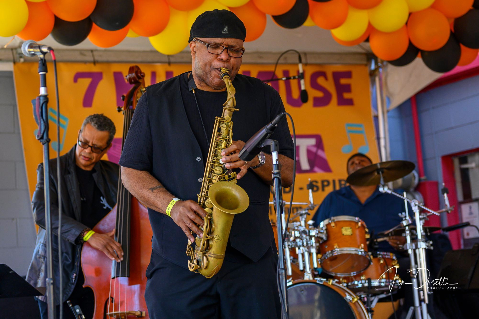 Charles McNeal at the 2nd Annual 7 Mile House Jazz Fest 2019