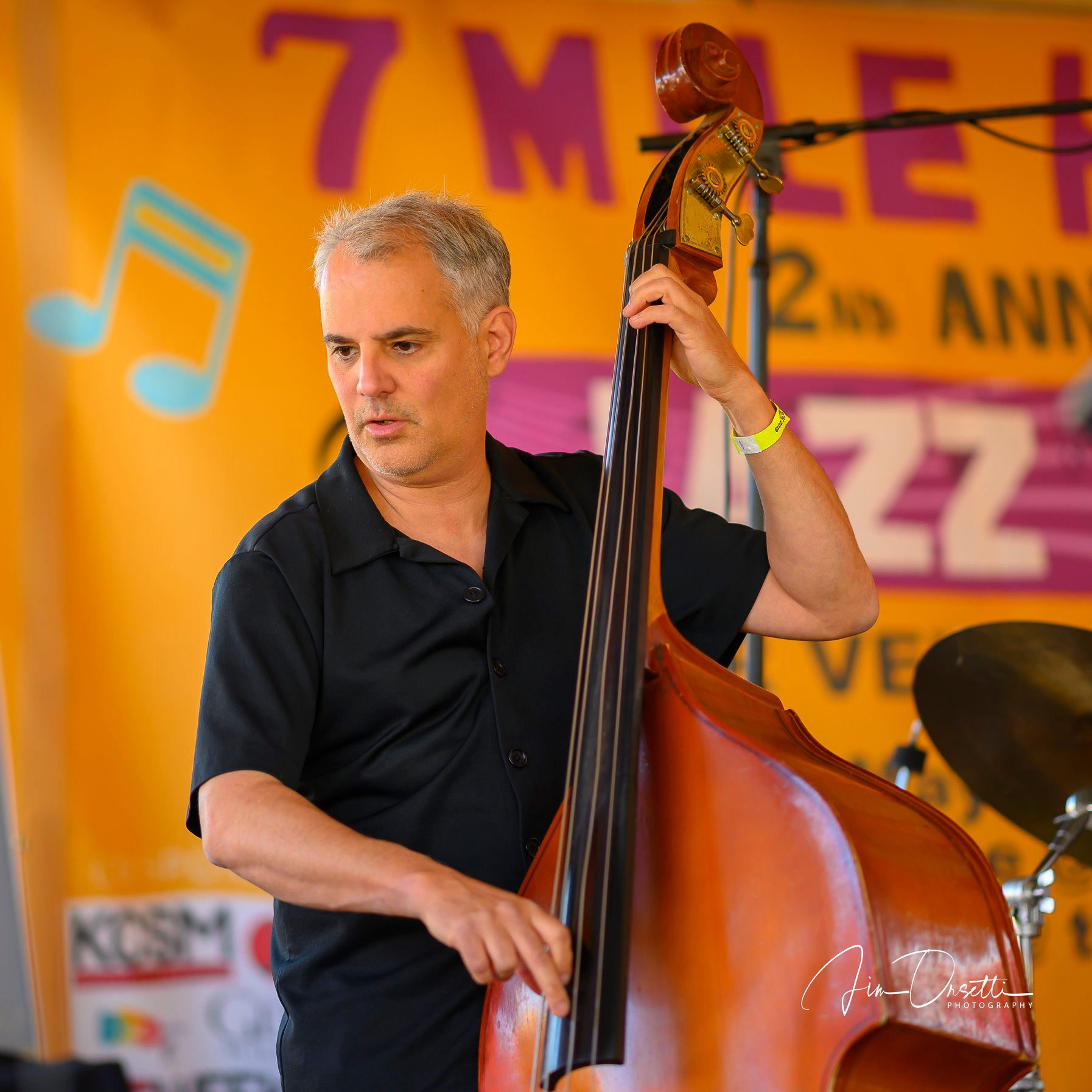 Michael Zisman at the 2nd Annual 7 Mile House Jazz Fest 2019