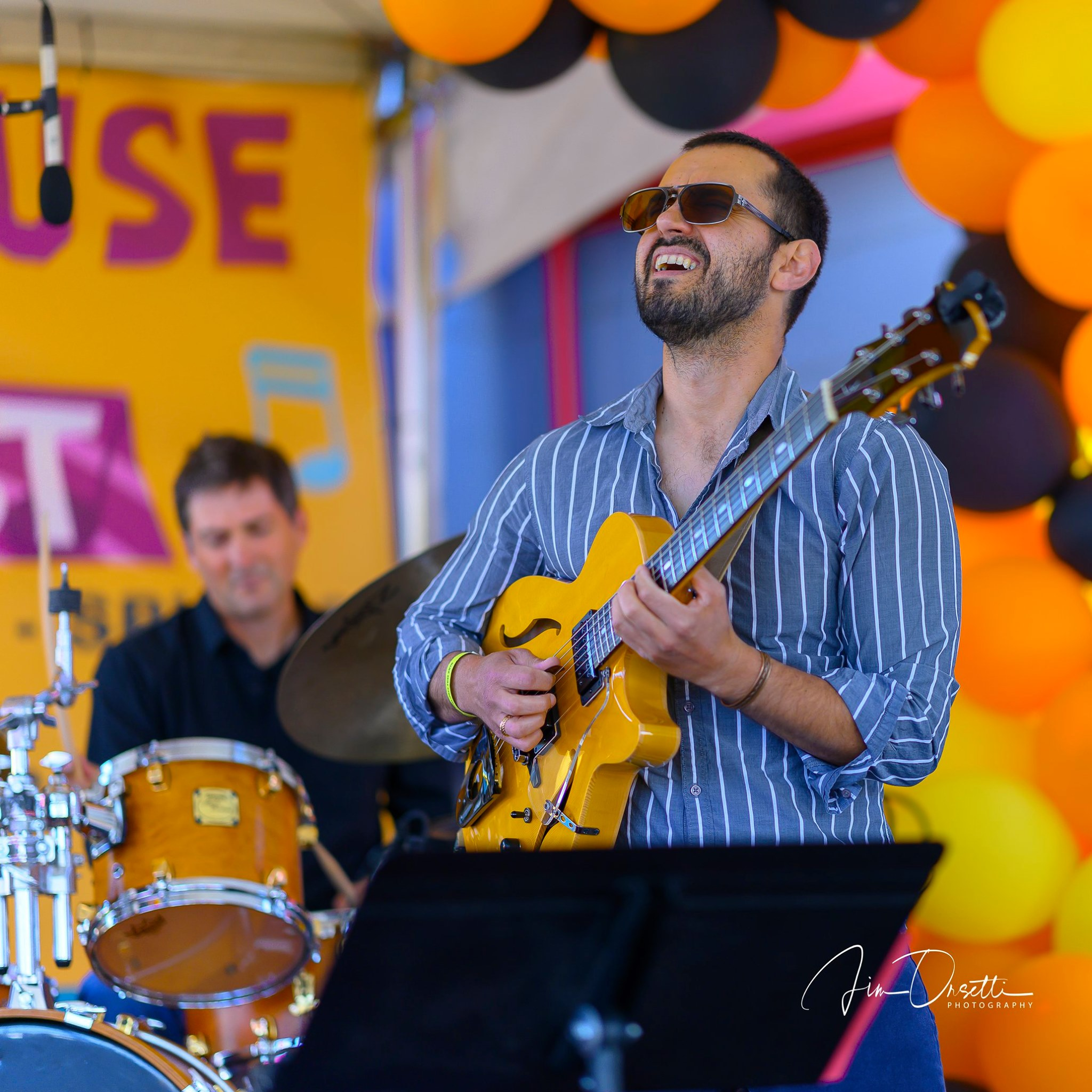 Hristo VItchev Organ Trio at the 2nd Annual 7 Mile House Jazz Fest 2019