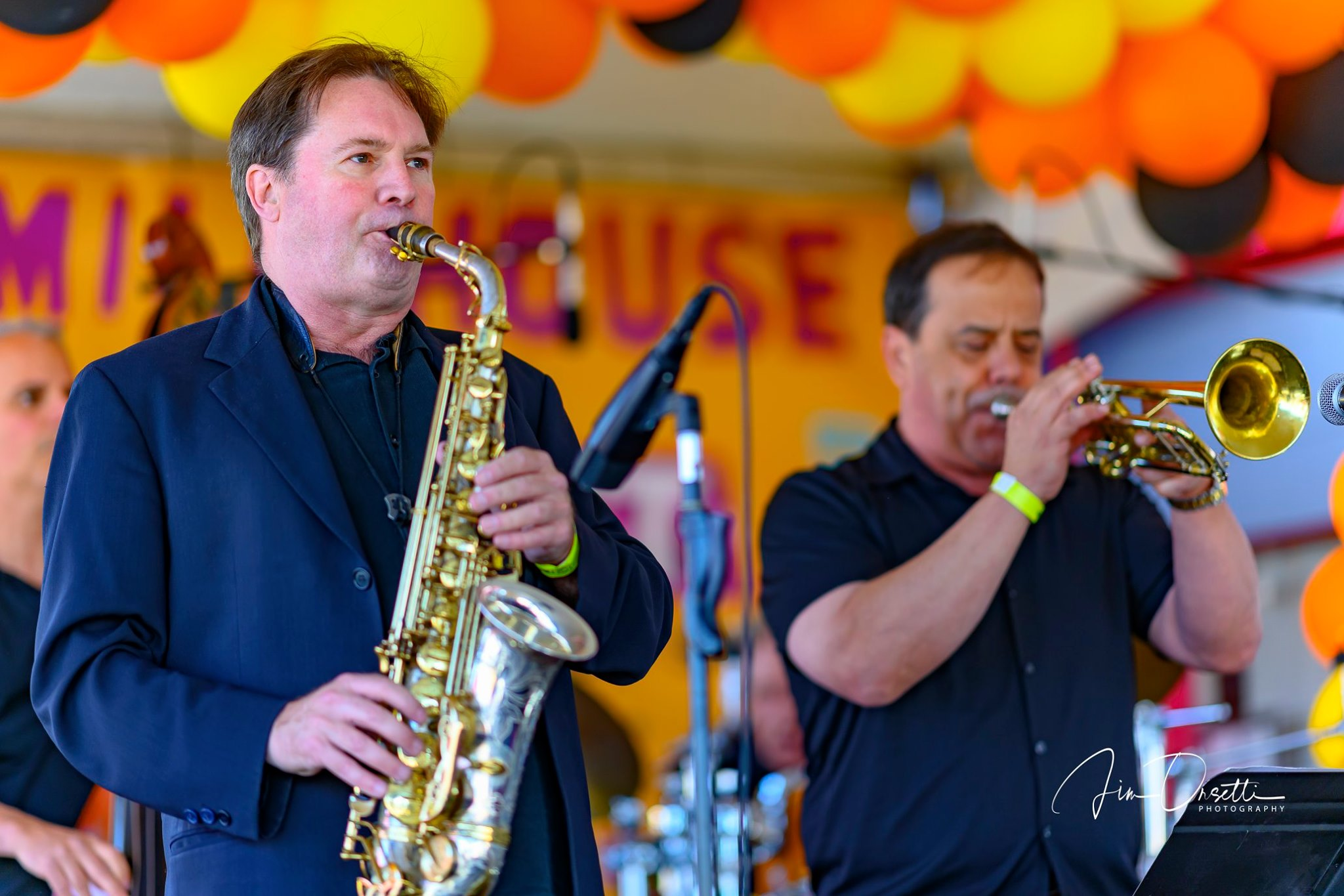 Andrew Speight & Modesto Briseno at the 2nd Annual 7 Mile House Jazz Fest 2019