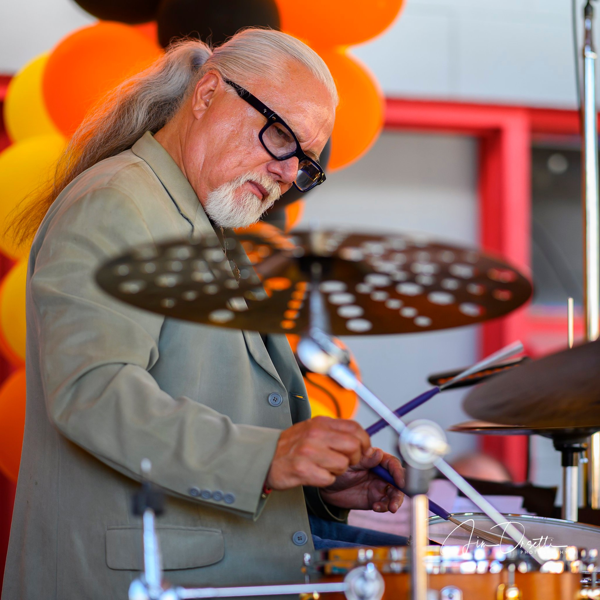 Wally Schnalle at the 2nd Annual 7 Mile House Jazz Fest 2019