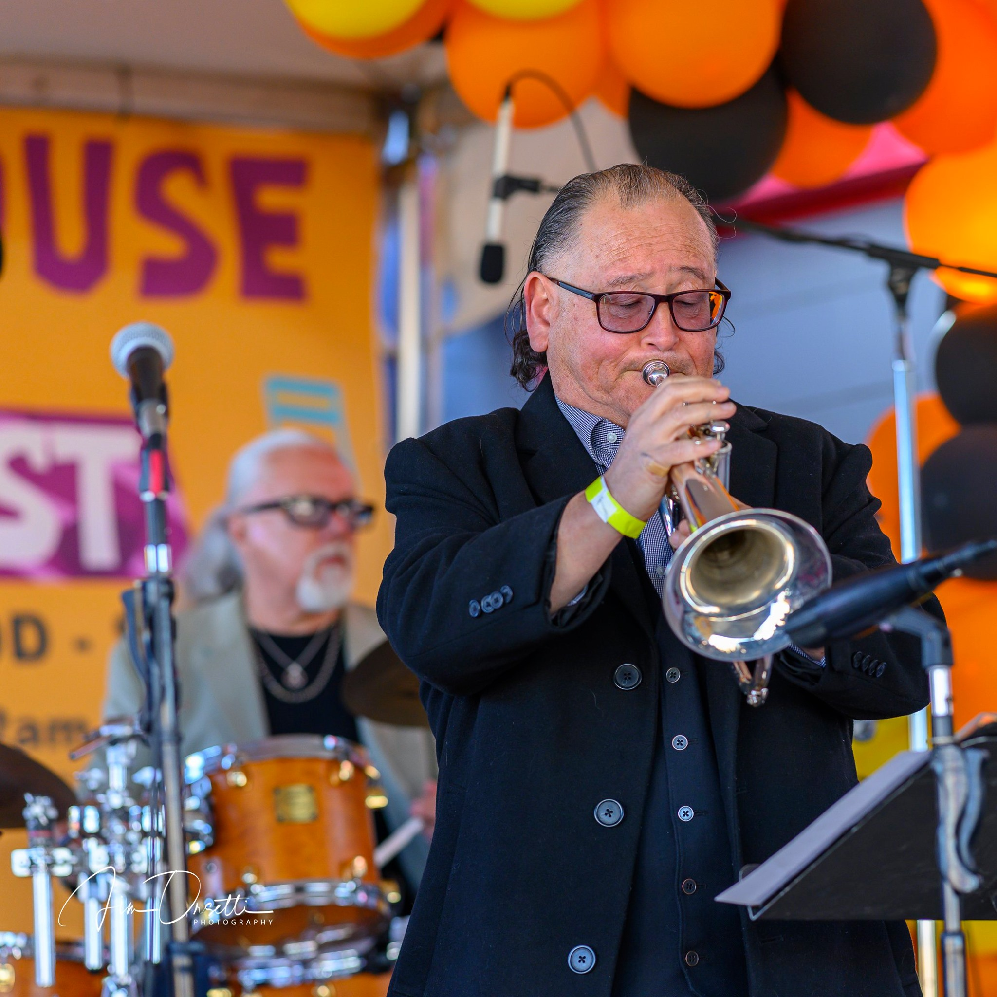 John L. Worley, Jr. at the 2nd Annual 7 Mile House Jazz Fest 2019