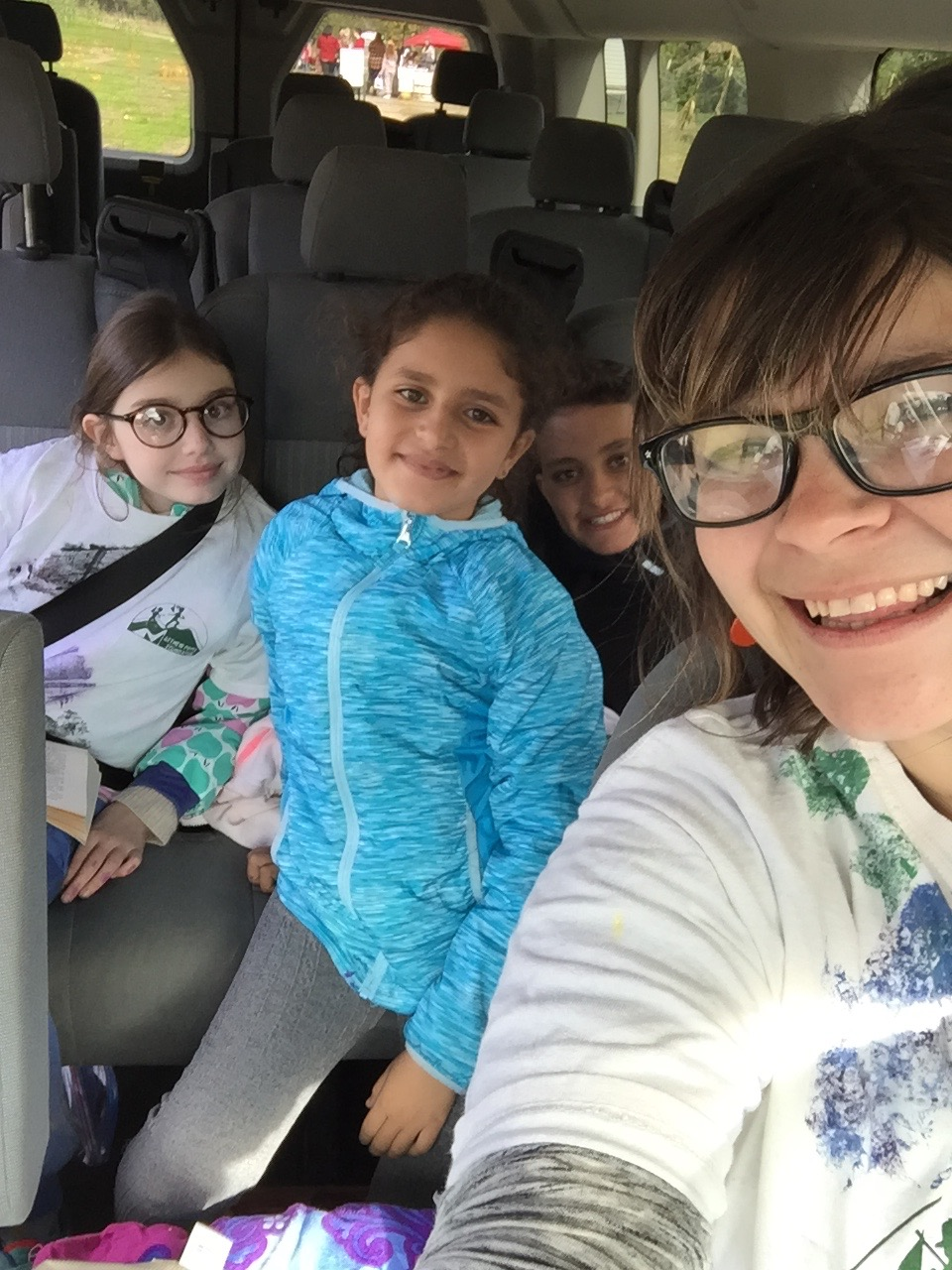 Cruisin with Bear Cubs Paulina, Lamees, and Adam