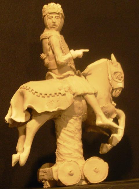 White Knight Porcelain, gold leaf