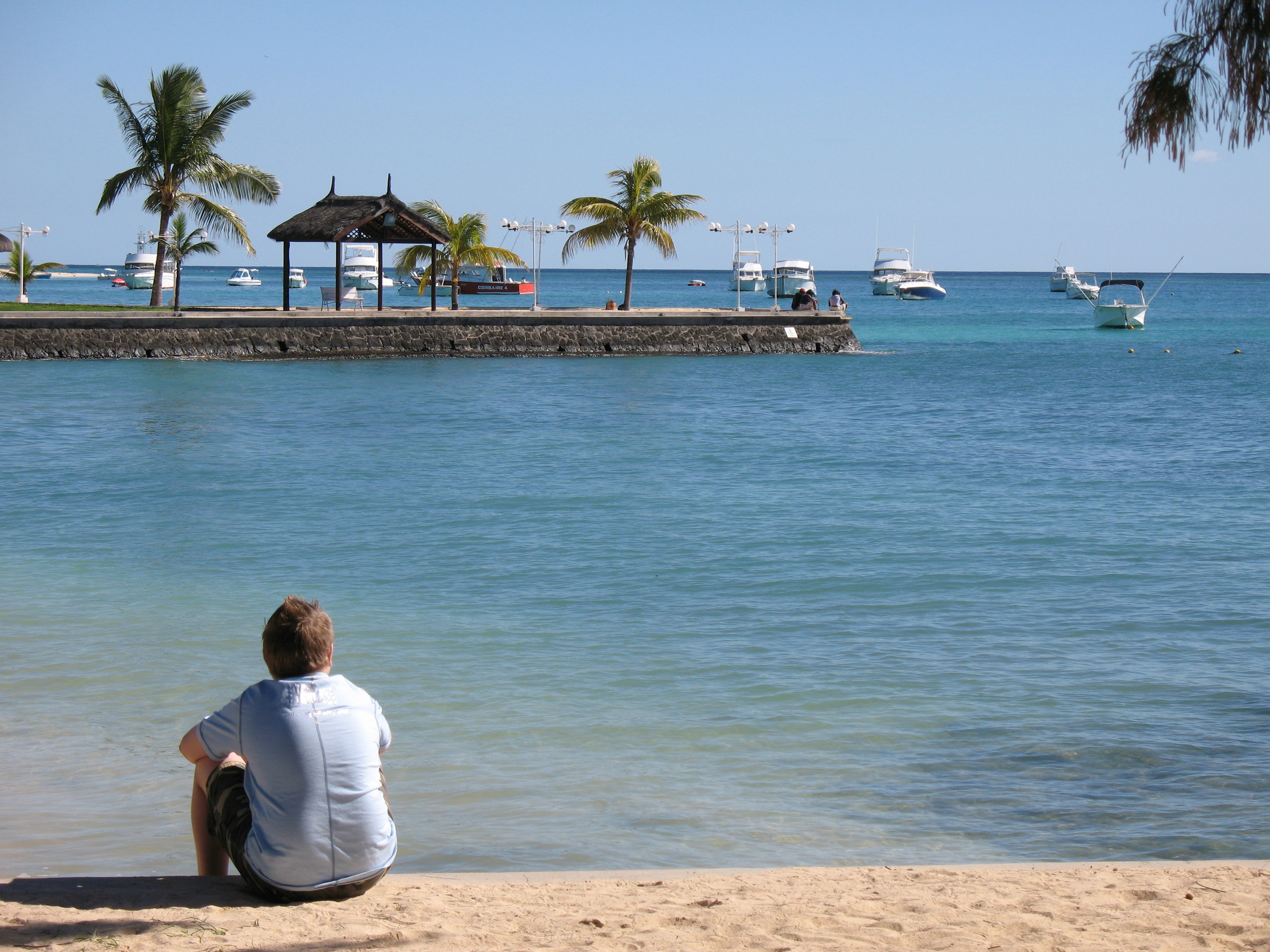 A 14-year-old me reflecting towards the end of a fantastic three-week holiday in Mauritius.