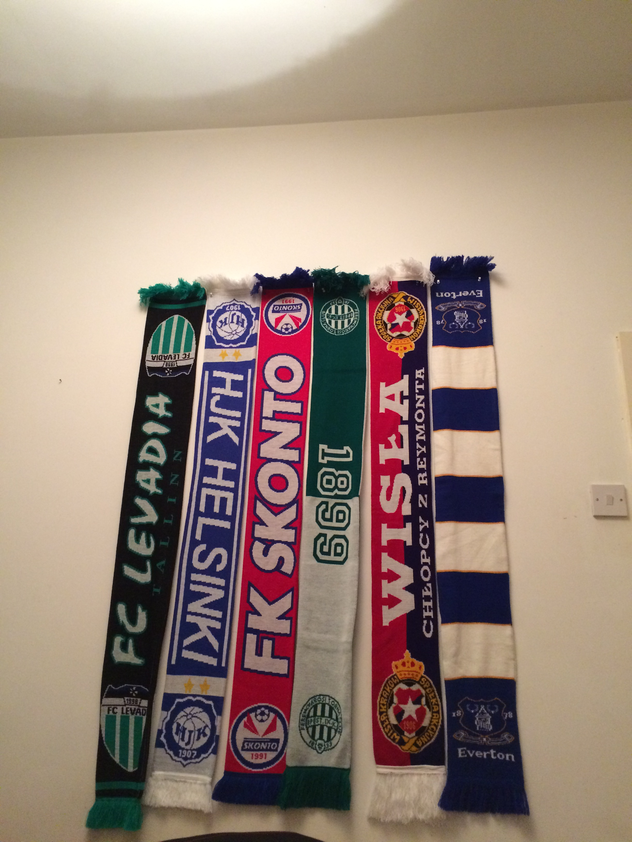 My current scarf collection.