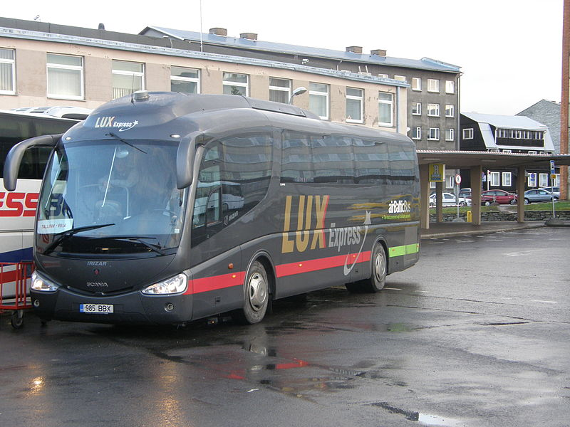 You can expect to use services like    LuxExpress    - an affordable way of travelling Europe.    LuxExpress    serve the Baltic States, Russia, Belarus and Finland, unlike Interrail, in addition to Poland and the Czech Republic. Image credit:    Kaarels   /Wikimedia Commons